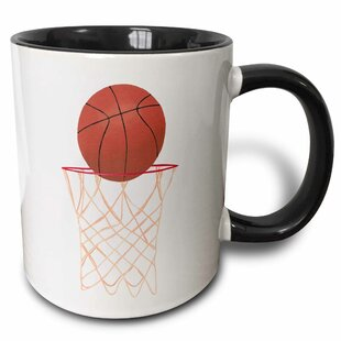 Basketball Hoop Net Coffee Mug