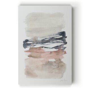 Tiered Horizon Line I - Wrapped Canvas Print