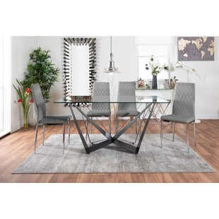 Fuhrman Dining Set With 6 Chairs By Mercury Row