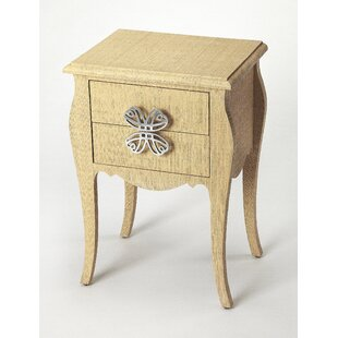One Allium Way Robin End Table with Storage