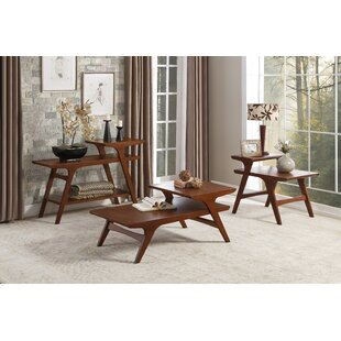 Exmouth 3 Piece Coffee Table Set