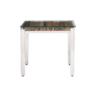 Orren Ellis Balis Rustic End Table