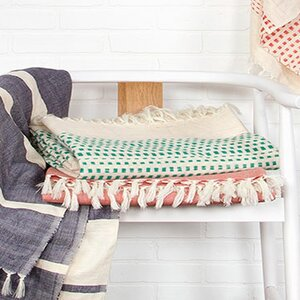 Gattilier Essential Handloom Modern Throw Blanket