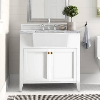 Manning 36 Single Bathroom Vanity Set