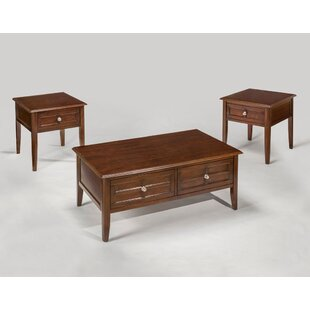 Compare Solana 3 Piece Coffee Table Set By Red Barrel Studio