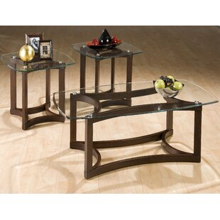 Jonina 3 Piece Coffee Table Set