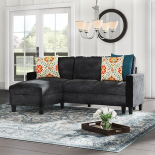 Iniguez Reversible Sectional Charlton Home