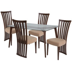 Emmy 5 Piece Dining Set by Ebern Designs