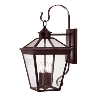 Coleg 4-Light Outdoor Wall lantern By Darby Home Co Outdoor Lighting