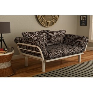 Reviews Maloof Convertible Lounger in Zebra Zen Futon and Mattress by Bloomsbury Market Reviews (2019) & Buyer's Guide