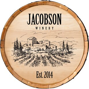Personalized Wine Barrel Wayfair