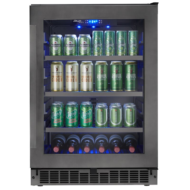 Danby Silhouette 23.8-inch 5.6 cu. ft. Undercounter Beverage Center  Finish/Color: Black Stainless