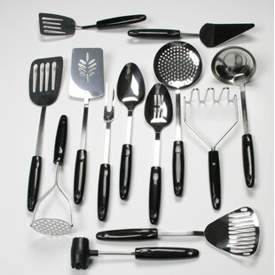 13-Piece Select Stainless Steel Kitchen Utensil Set