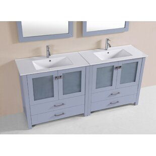 Lapp Modern 71 Double Bathroom Vanity Set by Latitude Run