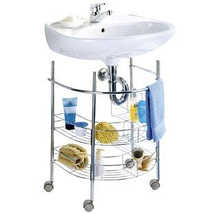Review Melendy 53cm X 63.5cm Bathroom Shelf