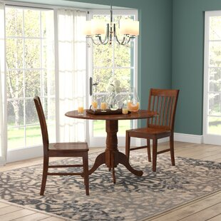 Spruill 3 Piece Drop Leaf Dining Set by August Grove