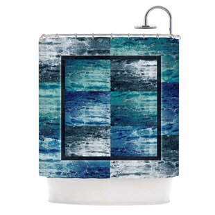 'Tavertina' Mixed Media Single Shower Curtain