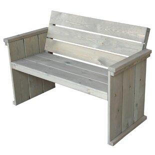 Belvedere Wooden Bench Image