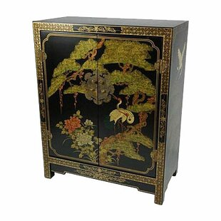 Savings Rosso Accent Cabinet ByBloomsbury Market