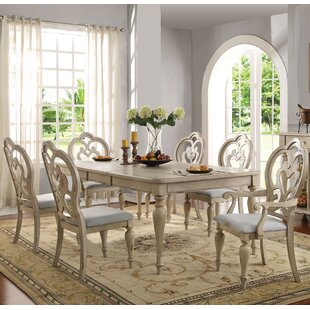 Percy 7 Piece Extendable Dining Set Bargain