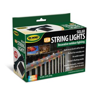Reviews Solar 50 Light Fairy String Light (Set of 3) By Ideaworks