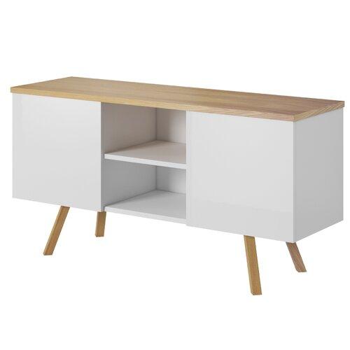TV-Lowboard Darvin für TVs bis zu 42 Fjørde & Co | Wohnzimmer > TV-HiFi-Möbel > TV-Lowboards | Fjørde & Co