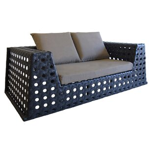 Happy Hour Loveseat with Cushions by 100 Essentials