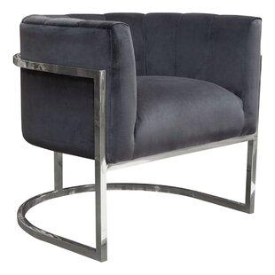 Pandora Barrel Chair by Diamond Sofa