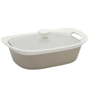 Etch Baking Dish with Glass Cover