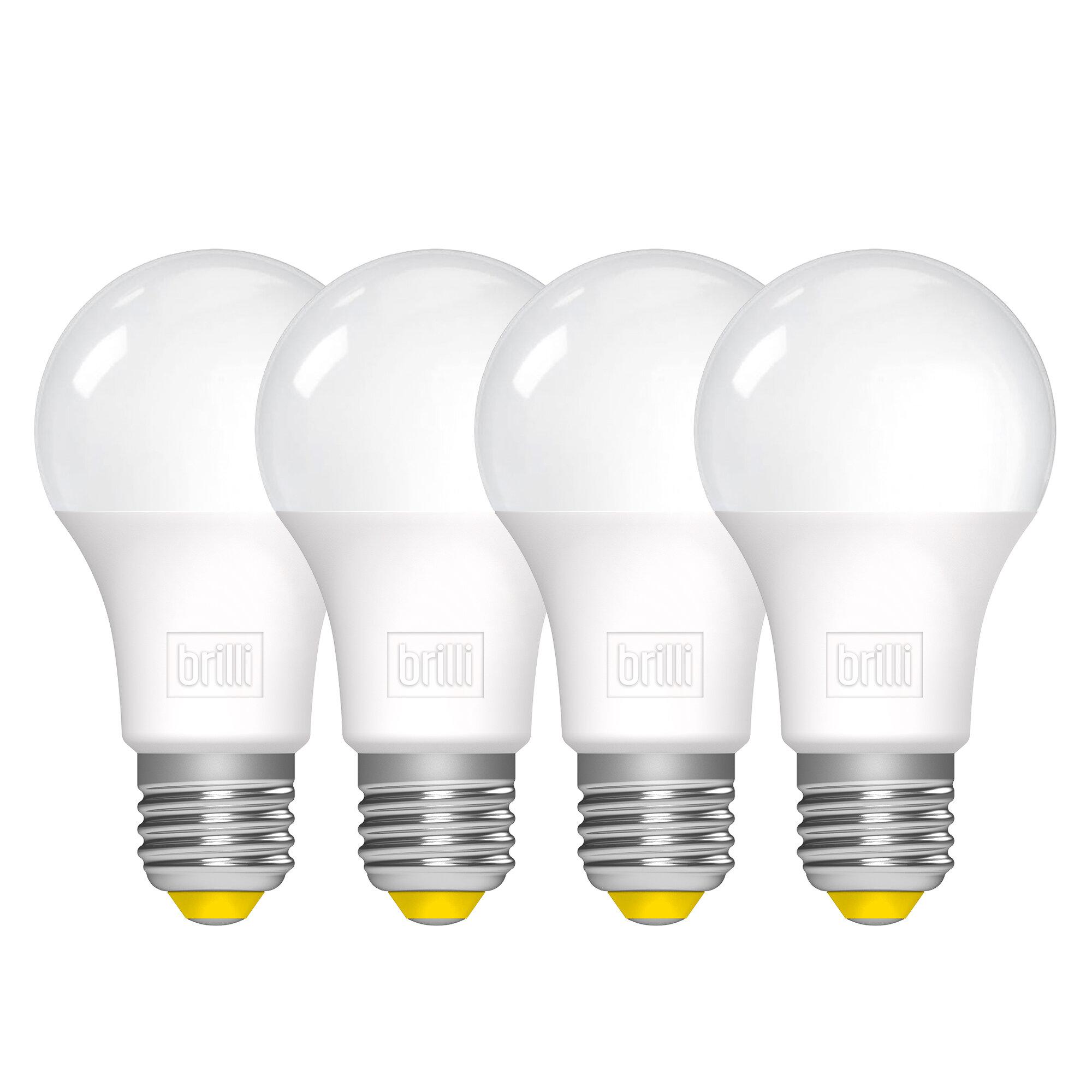 Brilli Wellness 11 Watt 75 Watt Equivalent A19 Led Dimmable Light Bulb Warm White 2700k E26 Medium Standard Base Reviews Wayfair