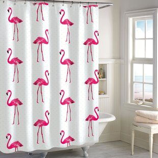 Best Review Pinard 100% Cotton Shower Curtain By Ebern Designs