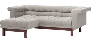"George Left Hand Facing 86"" Apartment Sectional by TrueModern SKU:CA787054 Details"