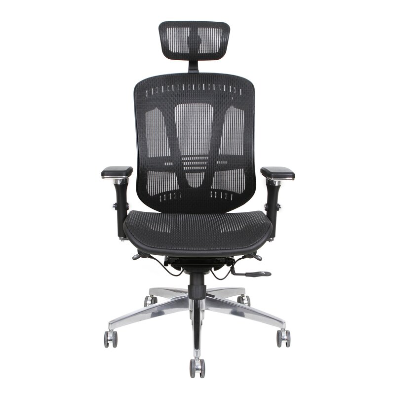thornton's office supplies ergoexec high-back mesh desk chair