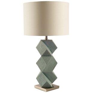 Brayden Studio Palmisano Table and Floor Lamp Set