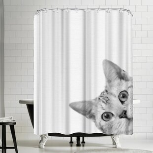 Nauda Cat Shower Curtain
