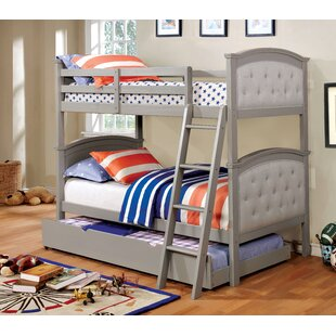 Find a Cobbett Twin over Twin Bunk Bed by Harriet Bee Reviews (2019) & Buyer's Guide