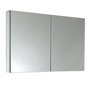39.5 x 26.13 Recessed or Surface Mount Frameless Medicine Cabinet