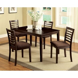 Bram 5 Piece Dining Set by Red Barrel Stu..
