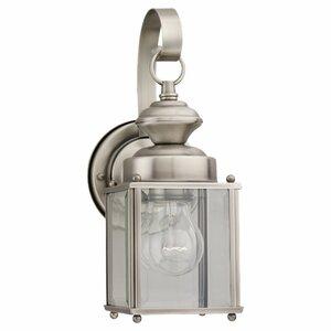 Burrows 1-Light Outdoor Wall Lantern