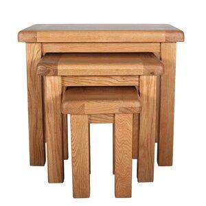 3-tlg. Satztisch-Set Malvern Occasional von Home & Haus