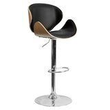 Swivel Adjustable Height Bar Stool by Offex