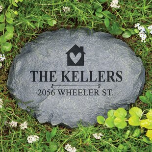 lashar our home personalized garden stone - Personalized Garden Stones