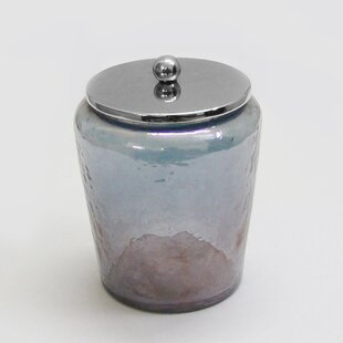 Smoke Glass Canister Storage Jar