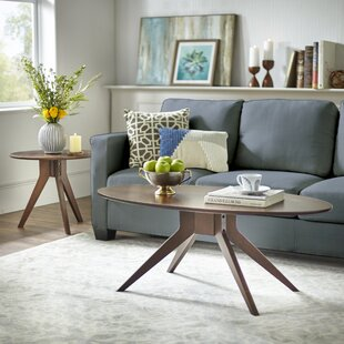 TMS Stratos 2 Piece Coffee Table Set