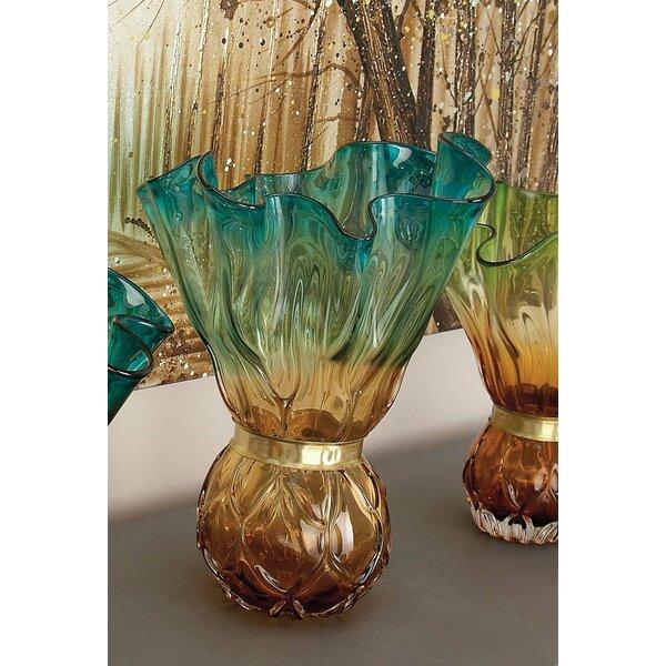 Seeded Glass Vase Wayfair