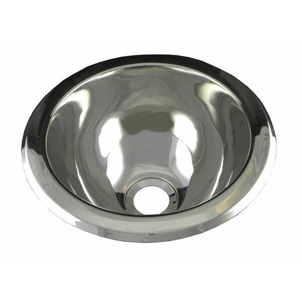 opella 10 x 10 round bar sink reviews wayfair. beautiful ideas. Home Design Ideas