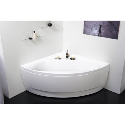 Olivia 55  x 55  Soaking BathtubAmerican Acrylic 48  x 48  Soaker Corner Bathtub   Reviews   Wayfair. 4 Foot Corner Bathtub. Home Design Ideas