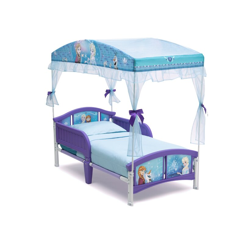 Delta Children Disney Frozen Convertible Toddler Bed & Reviews | Wayfair