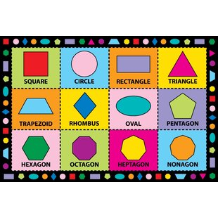 Looking for Fun Time Shapes Kids Rug By Fun Rugs