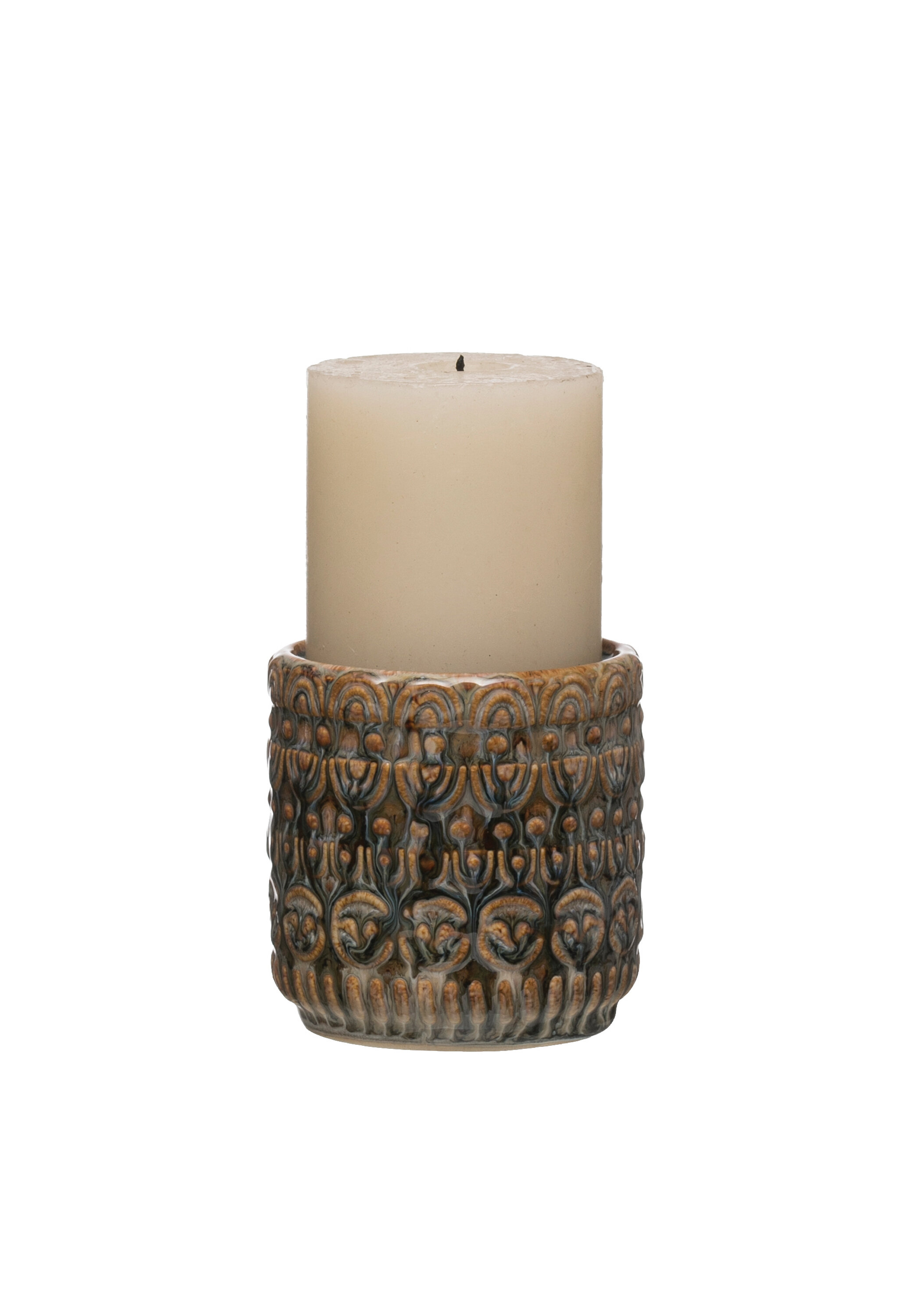 Bloomsbury Market 4 Ceramic Tabletop Candlestick Wayfair
